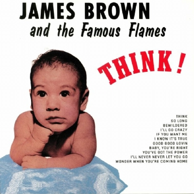 DISCO DE VINIL NOVO - JAMES BROWN AND THE FAMOUS FLAMES - THINK! LP 180 G