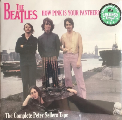 DISCO DE VINIL NOVO - THE BEATLES - HOW PINK IS YOUR PANTHER ? THE COMPLETE PETER SELLERS TAPES LP C