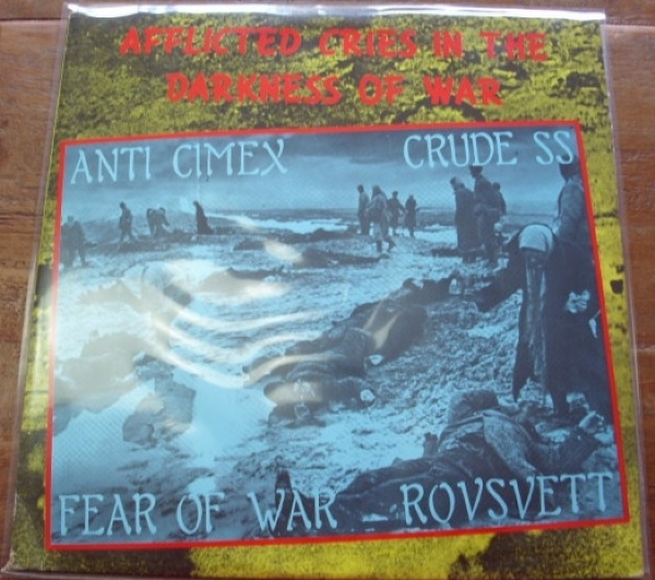 DISCO DE VINIL USADO - AFFLICTED CRIES IN THE DARKNESS OF WAR LP
