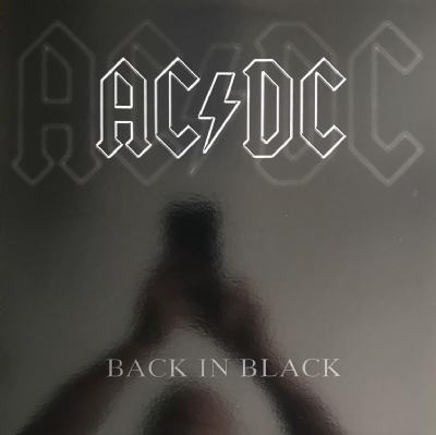 DISCO DE VINIL NOVO - AC/DC - BACK IN BLACK LP COLORIDO