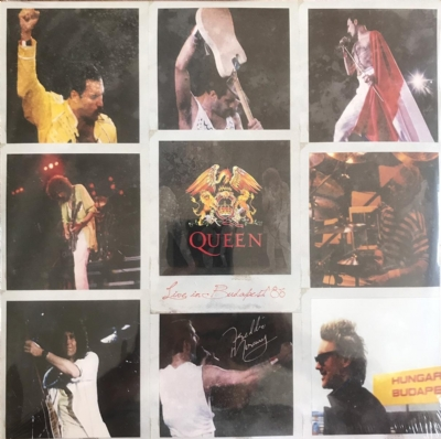 DISCO DE VINIL NOVO - QUEEN - LIVE IN BUDAPEST ´86 LP DUPLO