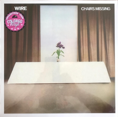 DISCO DE VINIL NOVO - WIRE - CHAIRS MISSING LP COLORIDO