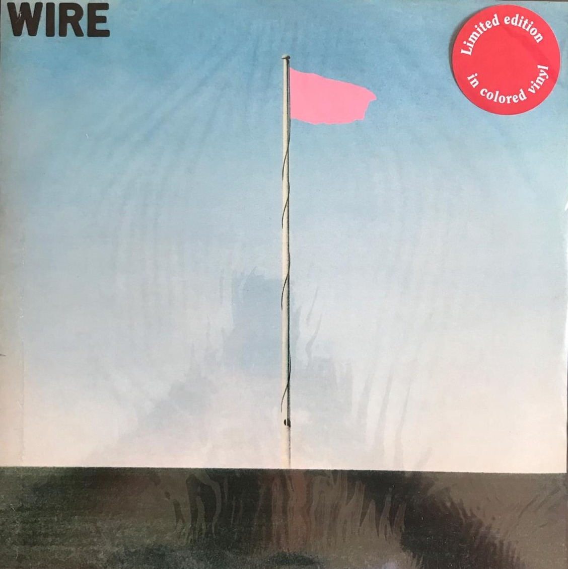 DISCO DE VINIL NOVO - WIRE - PING FLAG LP COLORIDO