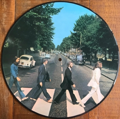 Disco De Vinil Novo - The Beatles - Abbey Road Lp Picture Disc