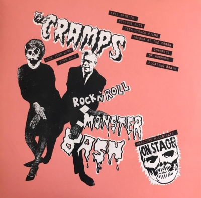 DISCO DE VINIL NOVO - THE CRAMPS - ROCK N´ ROLL MONSTER BASH LP