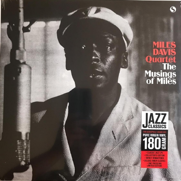 DISCO DE VINIL NOVO - MILES DAVIS QUARTET - THE MUSLINGS OF MILES LP 180 G