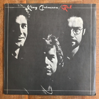 DISCO DE VINIL USADO - KING CRIMSON - RED LP IMPORTADO