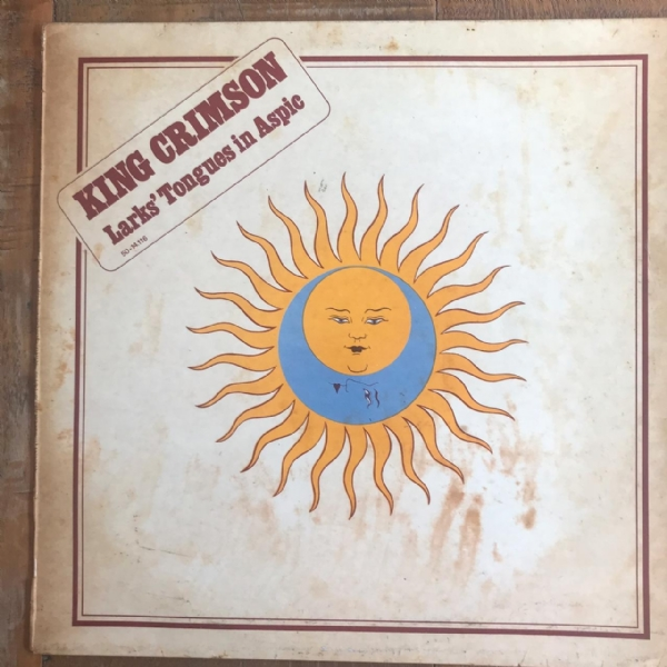 DISCO DE VINIL USADO - KING CRIMSON - LARKS´ TONGUES IN ASPIC LP IMPORTADO