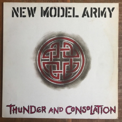 DISCO DE VINIL USADO - NEW MODEL ARMY - THUNDER AND CONSOLATION LP