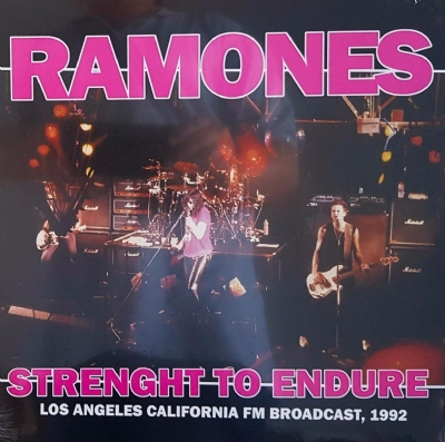 DISCO DE VINIL NOVO - RAMONES - STRENGHT TO ENDURE LP 180 G