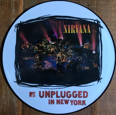 DISCO DE VINIL NOVO - NIRVANA - MTV UNPLUGGED IN NEW YORK LP PICTURE DISC