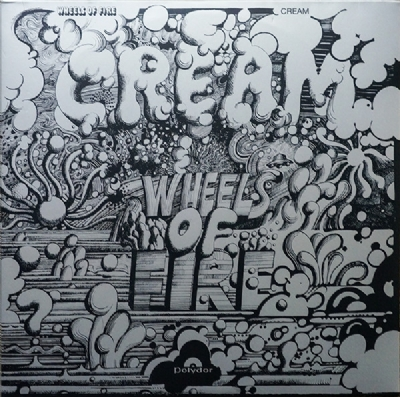 Disco De Vinil Novo - Cream - Wheels Of Fire Lp Duplo 180 G
