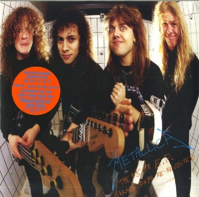 DISCO DE VINIL NOVO - METALLICA - THE $ 5.98 E.P. - GARAGE DAYS RE-REVISITED LP 180 G COLORIDO