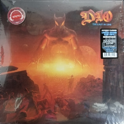 Disco De Vinil Novo - Dio - The Last In Line Lp Colorido