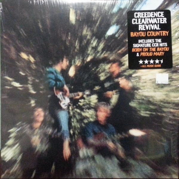 DISCO DE VINIL NOVO - CREEDENCE CLEARWATER REVIVAL - BAYOU COUNTRY LP IMG-1292557
