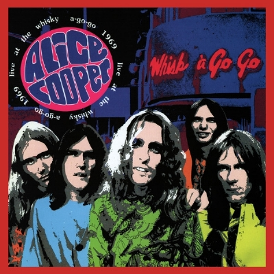 DISCO DE VINIL NOVO - ALICE COOPER - LIVE AT THE WHISKY A-GO-GO 1969 LP 180 G