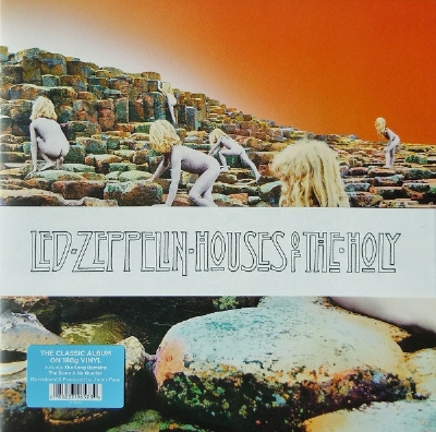 DISCO DE VINIL NOVO - LED ZEPPELIN - HOUSES OF THE HOLY REMASTER LP 180 G