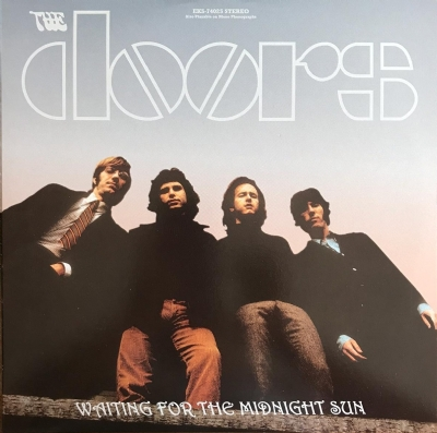 DISCO DE VINIL NOVO - THE DOORS - WAITING FOR THE MIDNIGHT SUN LP DUPLO COLORIDO