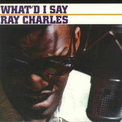 DISCO DE VINIL NOVO - RAY CHARLES - WHAT´D I SAY LP TRANSPARENTE