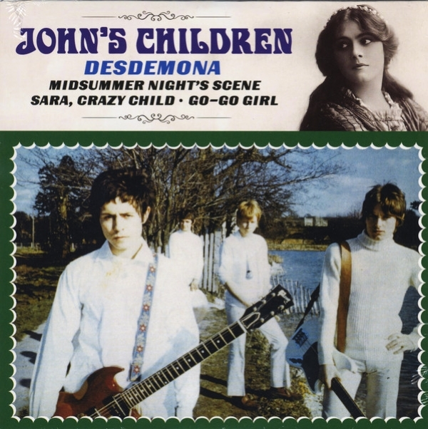 SINGLE DE VINIL NOVO - JOHN´S CHILDREN - DESDEMONA EP
