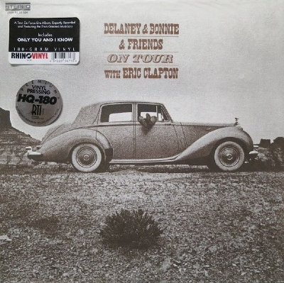 Disco De Vinil Novo - Delaney & Bonnie & Friends - On Tour With Eric Clapton Lp 180 G