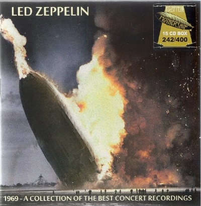 CD - LED ZEPPELIN - 1969 - A COLLECTION OF THE BEST CONCERT RECORDINGS 15 CD BOX SET