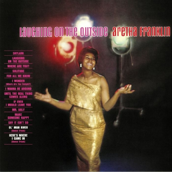 DISCO DE VINIL NOVO - ARETHA FRANKLIN - LAUGHING ON THE OUTSIDE LP 180 G