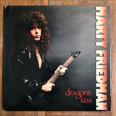 DISCO DE VINIL USADO - MARTY FRIEDMAN - DRAGON´S KISS LP IMPORTADO