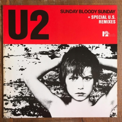 DISCO DE VINIL USADO - U2 - SUNDAY BLOODY SUNDAY 12 MIX LP IMPORTADO