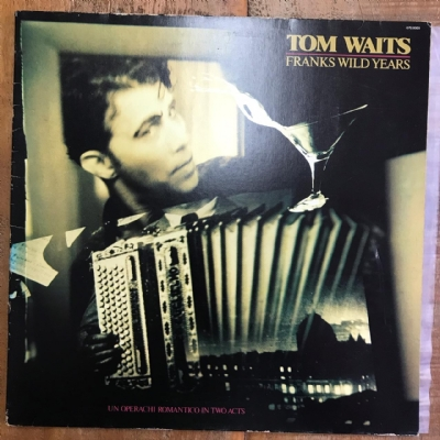 DISCO DE VINIL USADO - TOM WAITS - FRANKS WILD YEARS LP