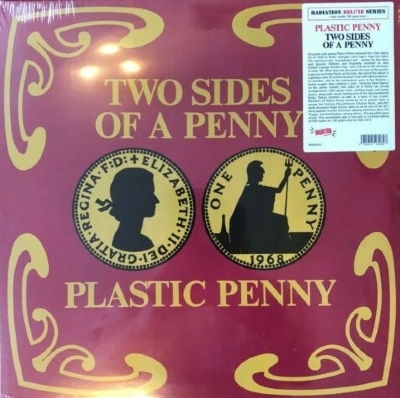 DISCO DE VINIL NOVO - PLASTIC PENNY - TWO SIDES OF A PENNY LP 180 G RECORD STORE DAY 2019