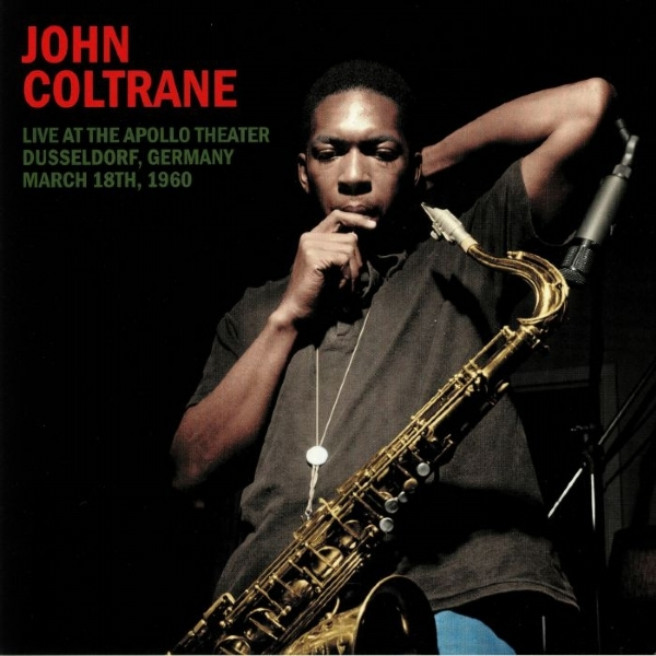 DISCO DE VINIL NOVO - JOHN COLTRANE - LIVE AT THE APOLLO THEATER LP 180 G