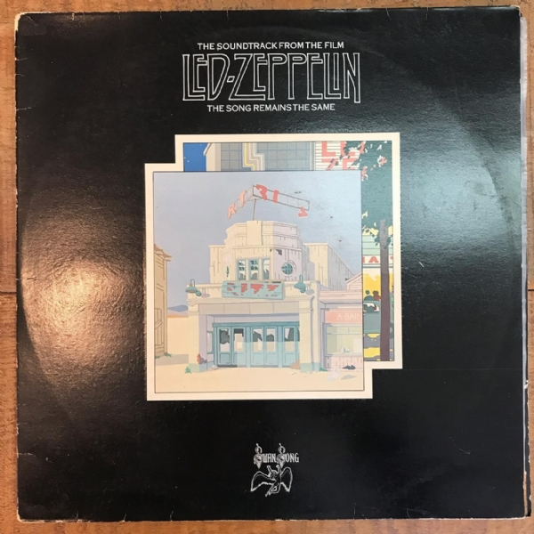 DISCO DE VINIL USADO - LED ZEPPELIN - THE SONG REMAINS THE SAME LP DUPLO
