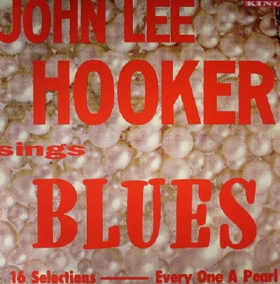 DISCO DE VINIL NOVO - JOHN LEE HOOKER - SINGS BLUES LP 180 G