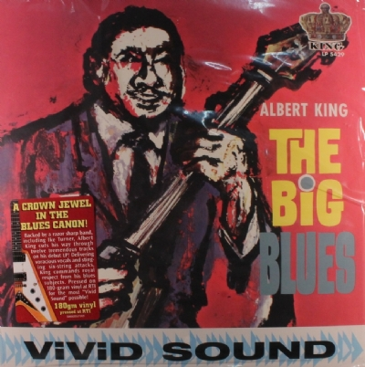 DISCO DE VINIL NOVO - ALBERT KING - THE BIG BLUES LP 180 G