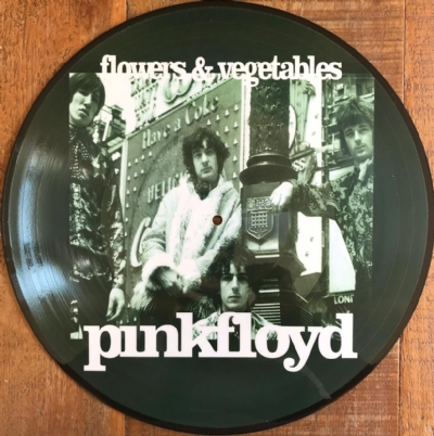 DISCO DE VINIL NOVO - PINK FLOYD - FLOWERS & VEGETABLES LP PICTURE DISC