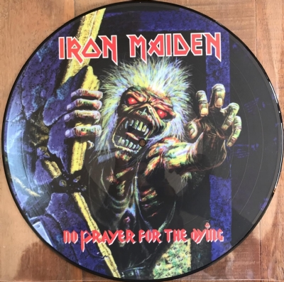 Disco De Vinil Novo - Iron Maiden - No Prayer For The Dying Lp Picture Disc