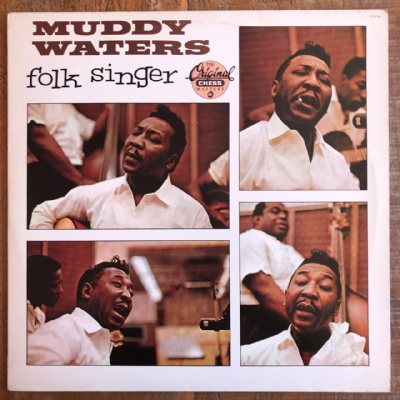 DISCO DE VINIL USADO - MUDDY WATERS - FOLK SINGER LP