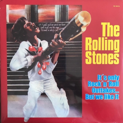 DISCO DE VINIL NOVO - THE ROLLING STONES - IT´S ONLY ROCK AND ROLL OUTTAKES...BUT WE LIKE IT LP