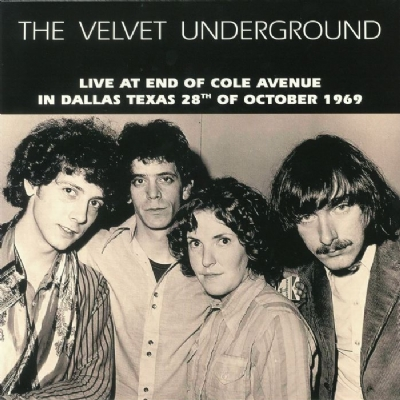 DISCO DE VINIL NOVO - THE VELVET UNDERGROUND - LIVE AT END OF COLE AVENUE 1969 LP 180 G