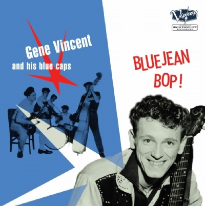 DISCO DE VINIL NOVO - GENE VINCENT & HIS BLUE CAPS - BLUEJEAN BOP! LP 180 G CD BÔNUS
