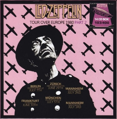 CD - LED ZEPPELIN - TOUR OVER EUROPE 1980 PARTS 1 & 2 28 CD BOX SET
