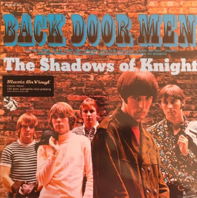 DISCO DE VINIL NOVO - THE SHADOWS OF KNIGHT - BACK DOOR MEN LP 180 G