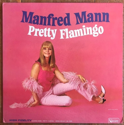 DISCO DE VINIL USADO - MANFRED MANN - PRETTY FLAMINGO LP