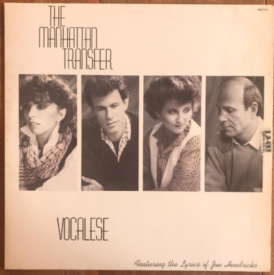 DISCO DE VINIL USADO - THE MANHATTAN TRANSFER - VOCALESE LP