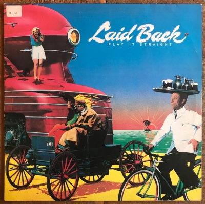 DISCO DE VINIL USADO - LAID BACK - PLAY IT STRAIGHT LP