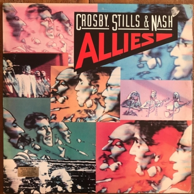 DISCO DE VINIL USADO - ICROSBY, STILLS & NASH - ALLIES LP