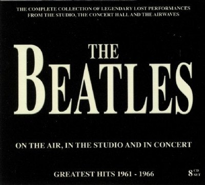 CD - THE BEATLES - ON THE AIR, IN THE STUDIO AND IN CONCERT 08 CD BOX SET