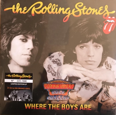 DISCO DE VINIL NOVO - THE ROLLING STONES - WHERE THE BOYS ARE LP COLORIDO