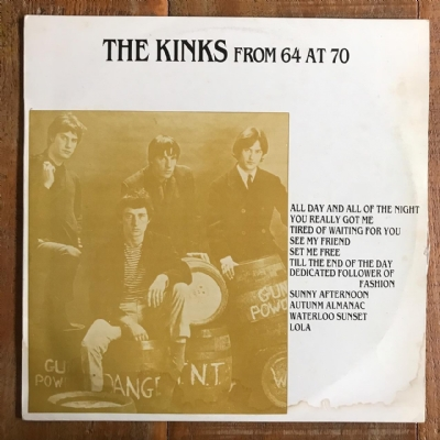 DISCO DE VINIL USADO - THE KINKS - FROM 64 AT 70 LP